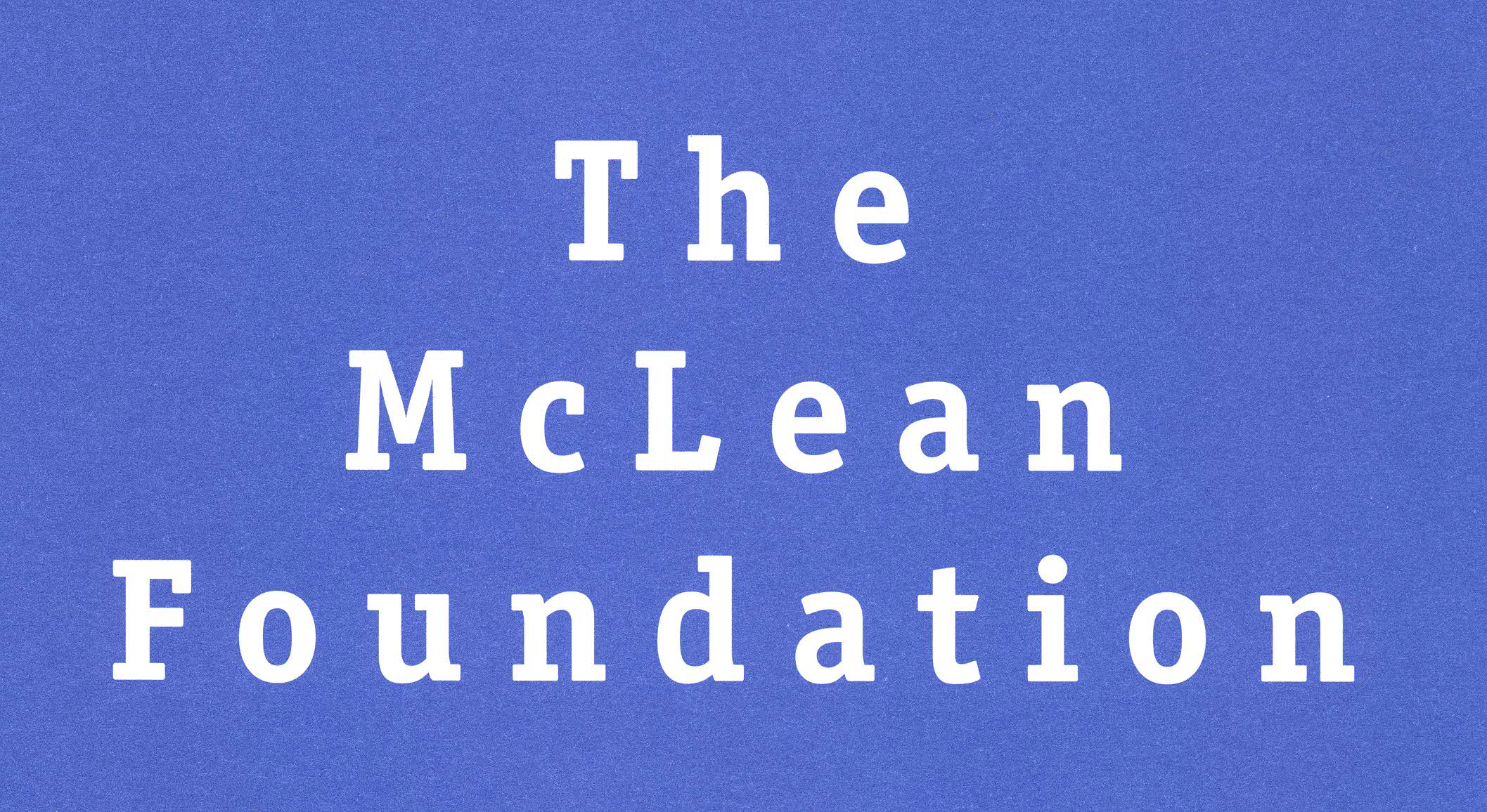 The McLean Foundation