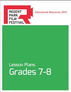 RPFF Lesson Plan Grades 7-8