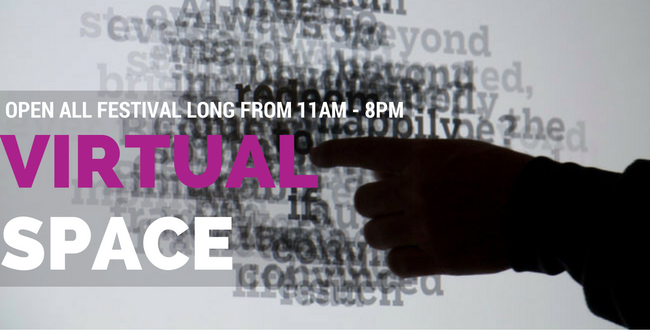 Virtual Space Open Nov 23-26 from 11am – 8pm